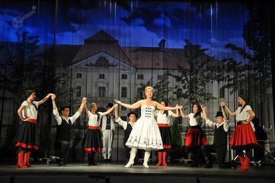 Prizor iz operete Grofica Marica