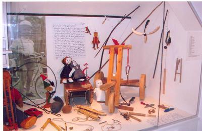 Igrače knapovskih otrok v Hrastniškem muzeju