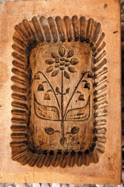 Detajl modelčka za maslo