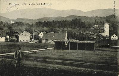 Pozdrav iz St. Vid-a pri Lukovici, ok. 1910