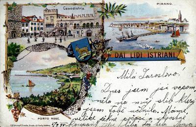 Dai lidi istriani: Capodistria, Pirano, Portorose