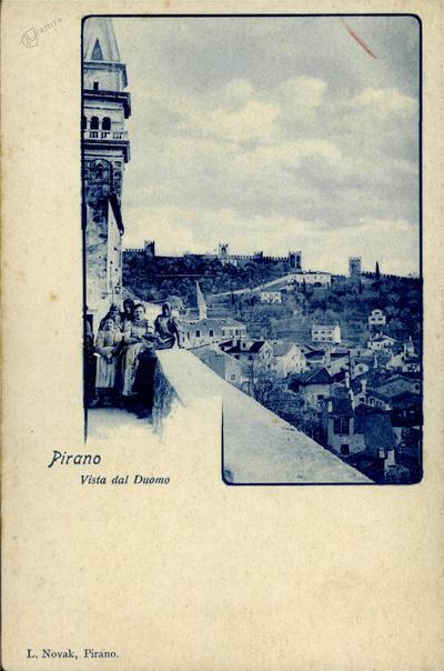 Pirano, vista dal duomo
