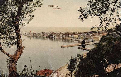 Pirano, panorama