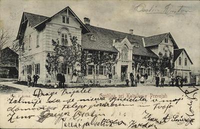 Gostilna pri Kotniku v Prevojah, p. 1910