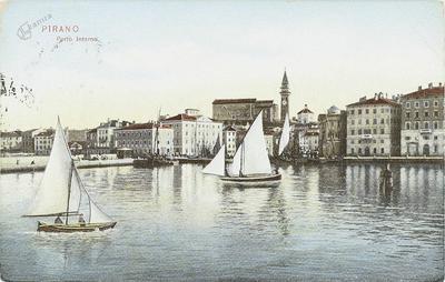 Pirano, porto interno