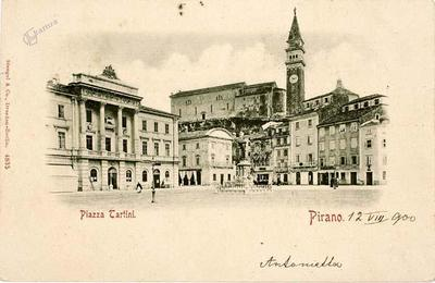 Pirano, Piazza Tartini