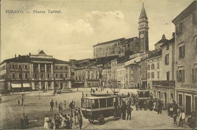 Pirano-Piazza Tartini