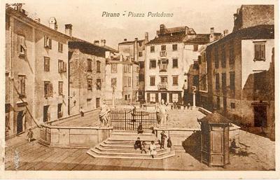 Pirano-Piazza Portadomo
