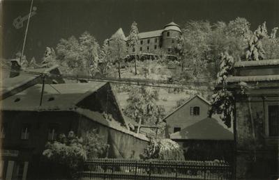 Grad Sevnica v zimski preobleki