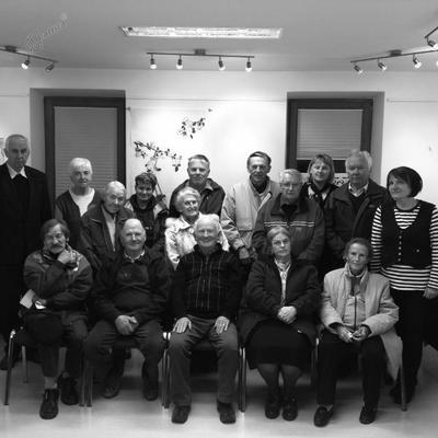 Udeleženci študijskega krožka na Koroški Beli