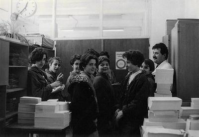 Učenci OŠ Bistrica na obisku v tiskarni tovarne Peko