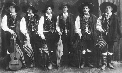 Fantje s Koroške Bele leta 1934