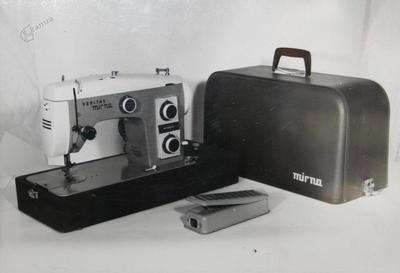 Šivalni stroj v kovčku