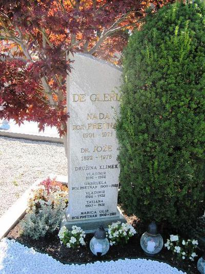 Nagrobnik Jožeta de Glerie