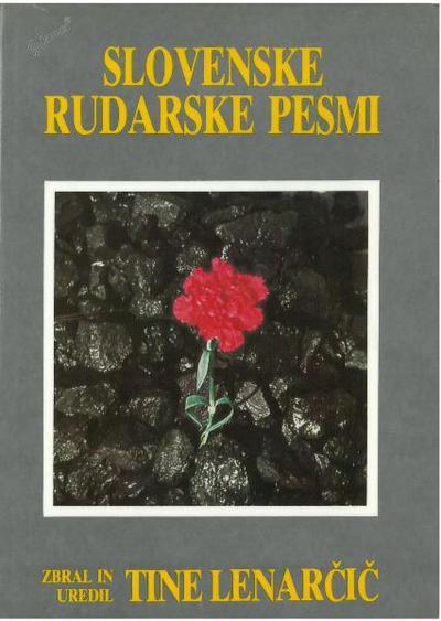 Slovenske rudarske pesmi, naslovnica