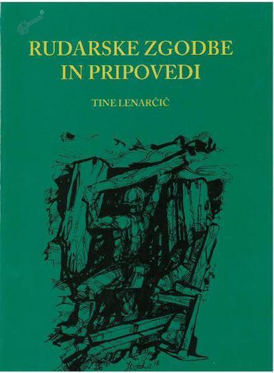 Rudarske zgodbe in pripovedi, naslovnica