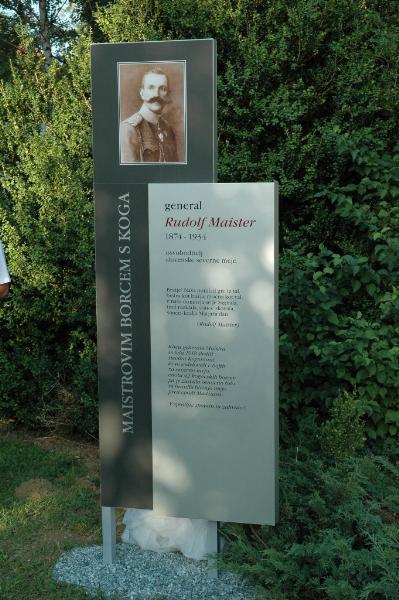 Spomenik Rudolfu Maistru na Kogu