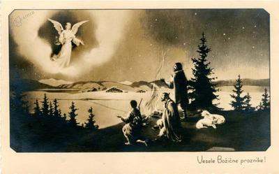 Angel in pastirji