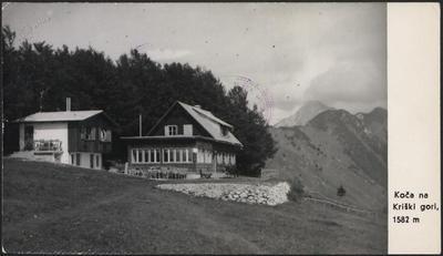 Koča na Kriški gori, 1582 m