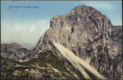 Steinerhütte am Steinersattel