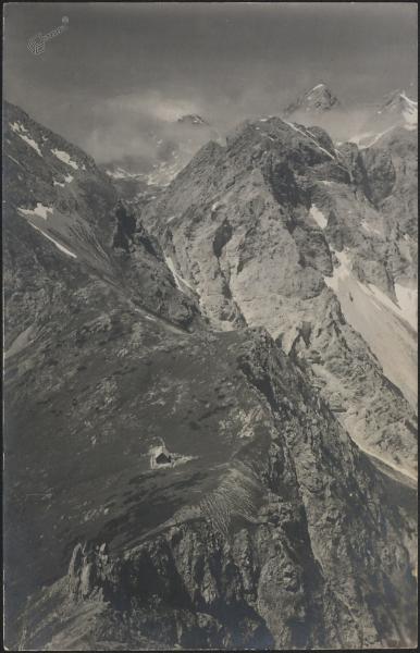 Kamniško sedlo 1900 m (Kamniška koča)