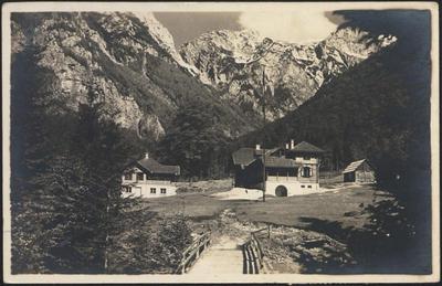 Pogled na dolino Kamniške Bistrice