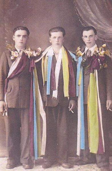 Vizitatnti iz Dolnjega Zemona leta 1931