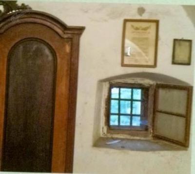 Šinkovčeva hiša, staro okno