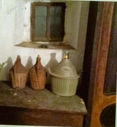 Predmeti v Šiknovčevi hiši. pletenke
