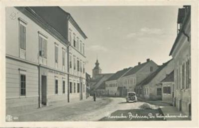 Nekdaj Vošnjakova ulica v Slovenski Bistrici