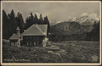 Planinski dom na Kovcah