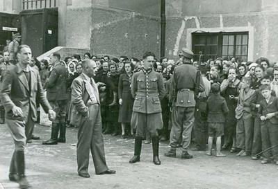Komandant nemške varnostne službe in policije Otto Lurker