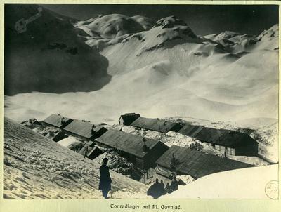 Taborišče na planini Govnjač