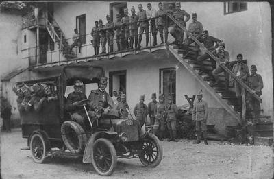 Pripadniki 4. stotnije 27. domobranskega pehotnega polka