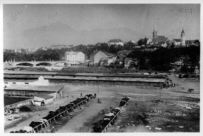 12. šlezijska divizija v Kranju pred pohodom proti Kobaridu