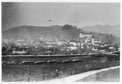 Avstro-ogrsko-nemška armada na poti čez Gorenjsko