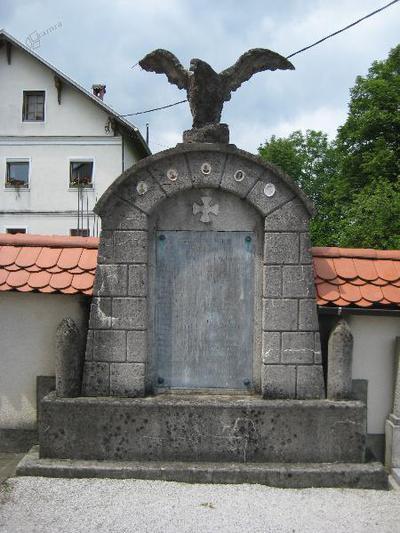 Spomenik v Kamni Gorici