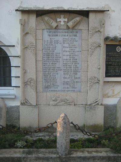 Spomenik na Kovorju
