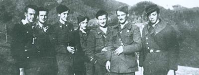 Del operativnega štaba Šlandrove in Zidanškove brigade