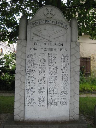 Spomenik v Mengšu