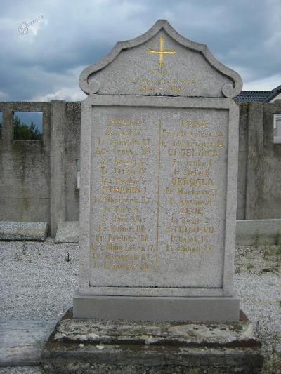 Spomenik v Naklem