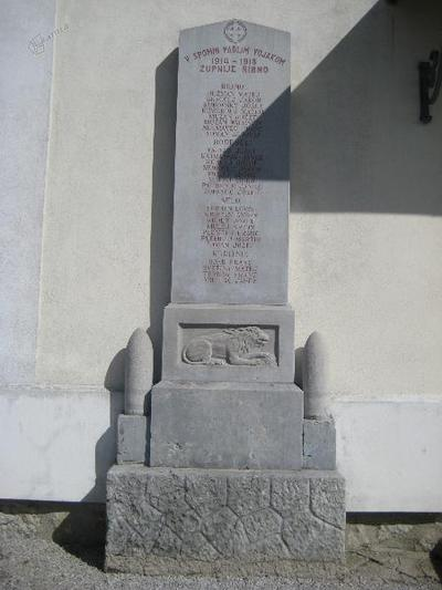Spomenik v Ribnem