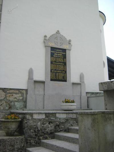 Spomenik v Stranjah