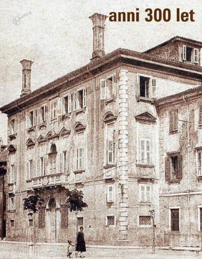 Znamka palače Bruti