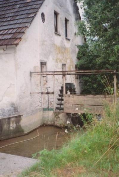Vodno kolo na lopate, Drajslerjev mlin