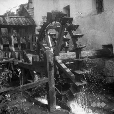 Plavčev (Kregljev) mlin nekoč
