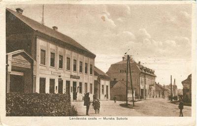 Lendavska ulica_1933
