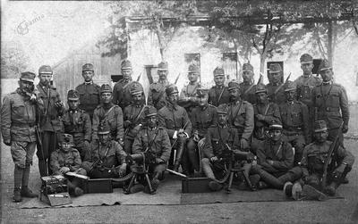 Strojnični odd. 4. stot. I. bat. pri 18. m. kr. peh. polku, 1917