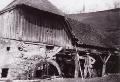 Žužkov mlin v 30. letih 20. stoletja