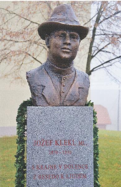 Doprsni kip Jožefa Klekla mlajšega